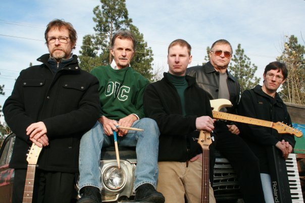 Left to right: Norman Goddard, Wally Hild, Dale Anderson, Rollie Lapointe, Ryan Schick (alt)